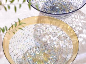 【吉村桂子 ガラス展-大地の風- 】イロアミ大鉢