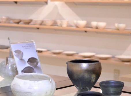 【荒賀文成展 】DM掲載の鉢と酒器