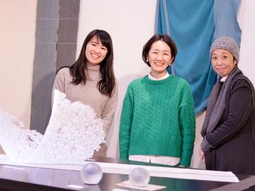 【吉田桂子×古川莉恵×加藤千佳 展 】Merry Christmas!