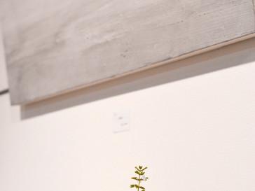 【五月女寛 展 】より花器、墨象画