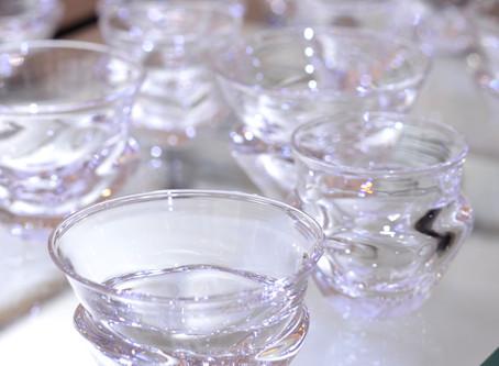 【杉江智 クリスタルガラスの器 展】酒器