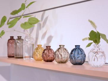 【津坂陽介・久保裕子 -日の出ガラス工芸社- 展】より、花器