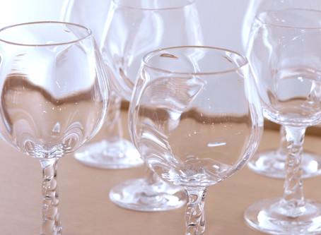 【杉江智 クリスタルガラスの器 展】終了しました