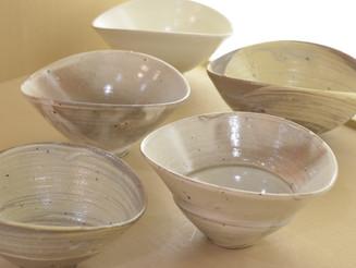 【荒賀文成展 】半月碗・鉢