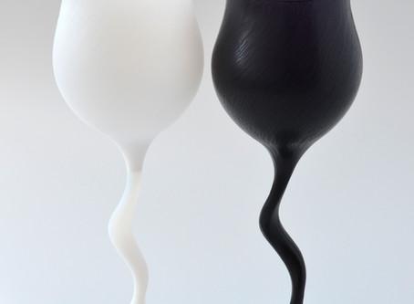 【佐野猛・佐野曜子 展】ワイングラス