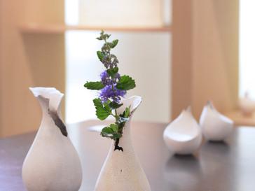 【五月女寛 展 】より、ひょうたん型花器