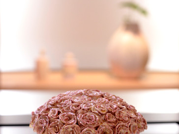 【 竹村智之 展 】より、バラの贈り物