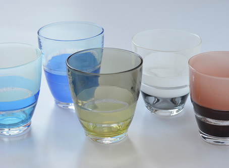 【佐野猛・佐野曜子 展】より、グラス