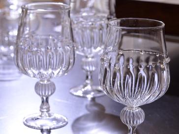 【和田純子 展 】ワイングラス、脚付盃