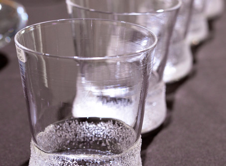 【 中村真紀 展 】より、グラス