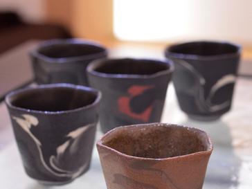 瀬津純司作品 酒杯