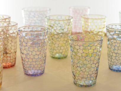 【吉村桂子 ガラス展-大地の風- 】イロアミグラス