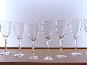 【杉江智 クリスタルガラスの器 展】グラス