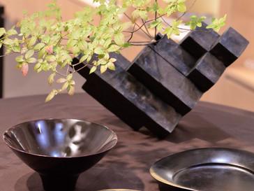 【鎌田克慈×竹内紘三展-饗宴- 】花器、器