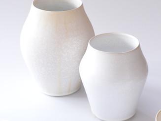 【福岡彩子 展 】flower vase