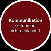 Kommunikation zielführend nicht geplaude