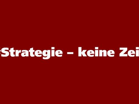 Strategie – ruhige Nächte für Unternehmer