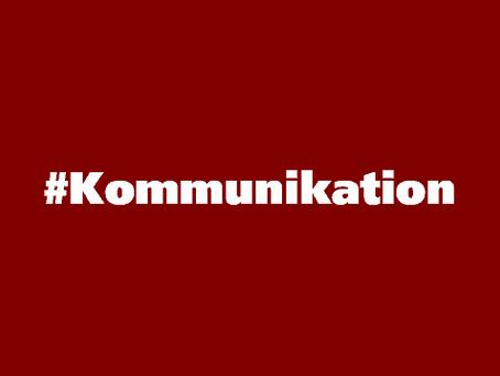 Kommunikation – wer spricht denn da?