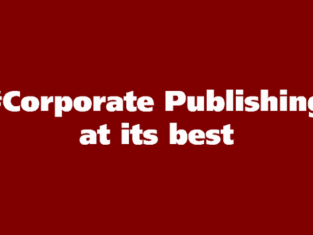 Corporate Publishing. Corporate was?