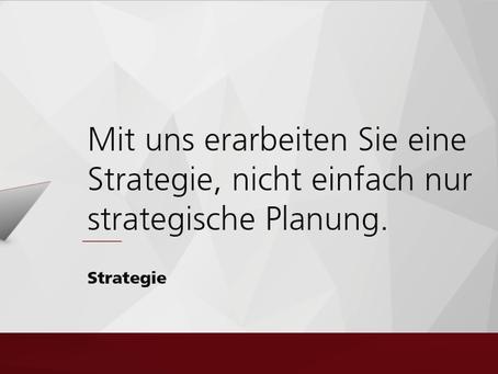 Strategiefindung heisst, den Weg in die Zukunft klären