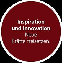 Inspiration und Innovation. Neue Kräfte