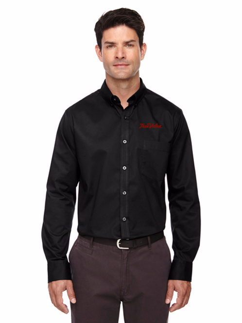 Mens & Ladies Core 365 Operate Long-Sleeve Twill Shirt