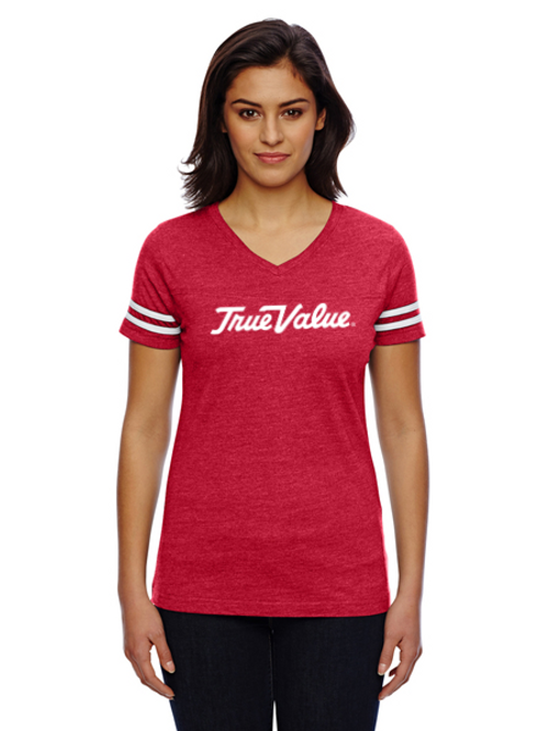 Mens and Ladies Adult Vintage Football T-Shirt