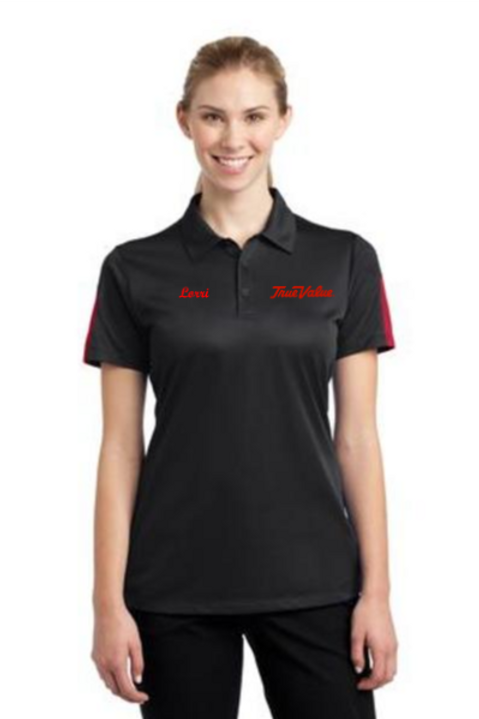 Ladies PosiCharge® Active Textured Colorblock Polo
