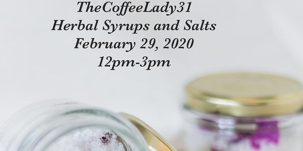 Herbal Syrups and Salts