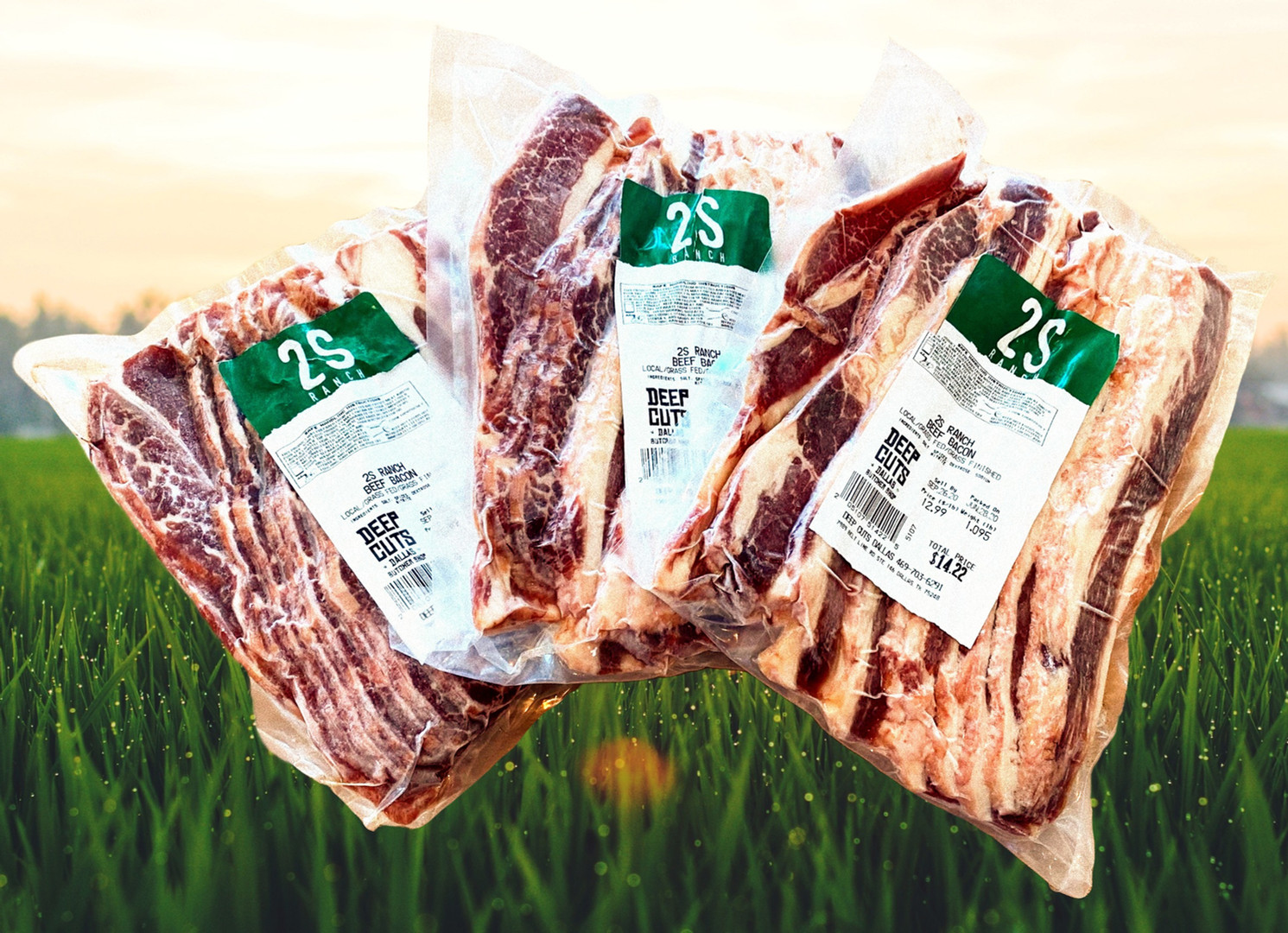 Grass Fed Beef Bacon