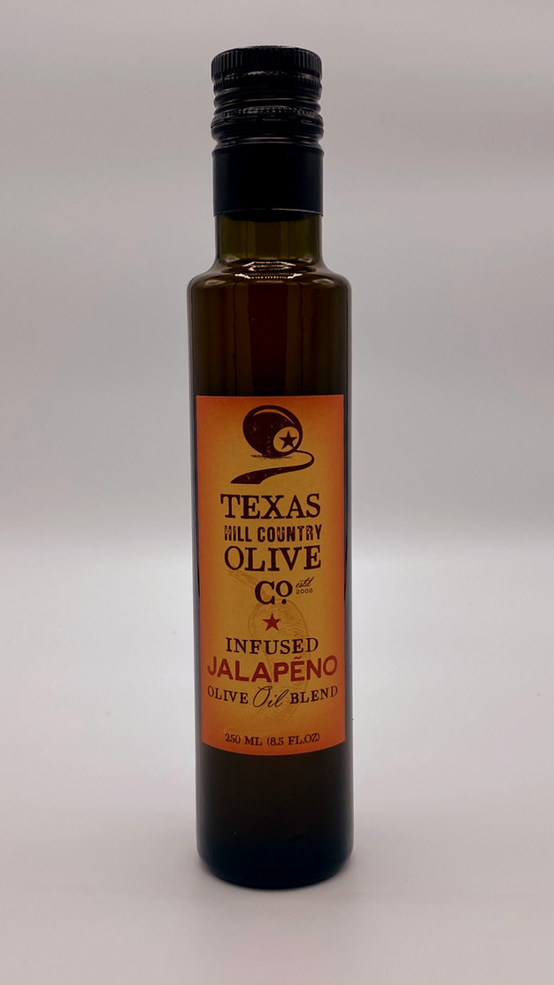 Infused Jalapeño Olive Oil Blend