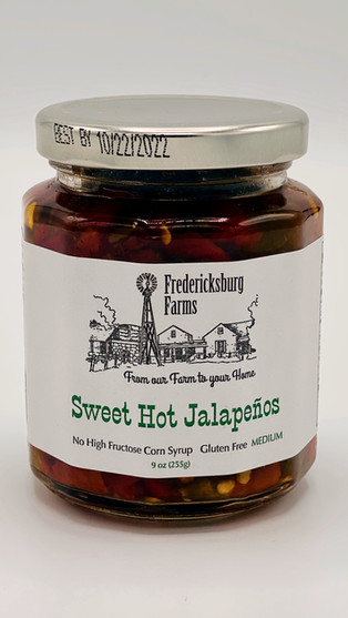 Sweet Hot Jalapeños