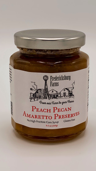 Peach Pecan Amaretto Preserves