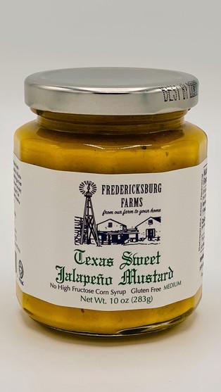 Texas Sweet Jalapeno Mustard