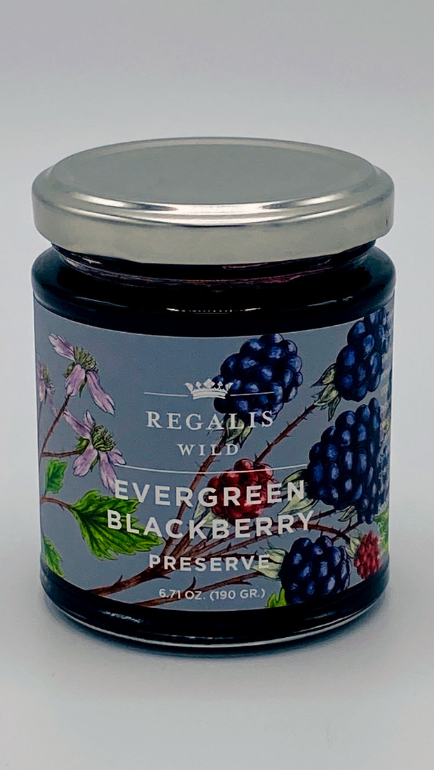 Evergreen Blackberry Preserve