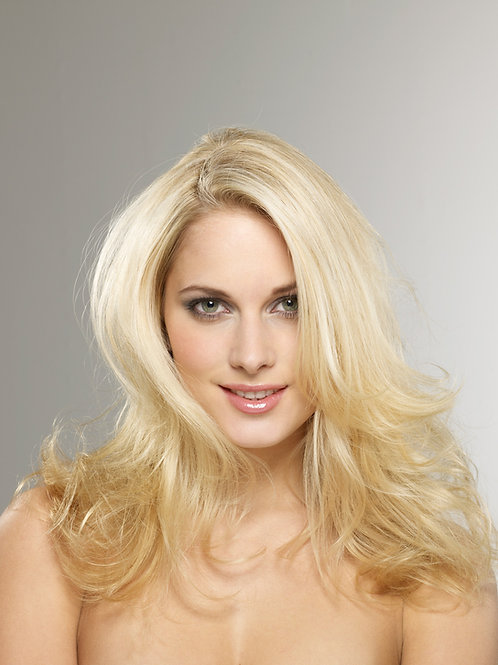 """Clip in Blonde Human Hair Extensions 16-18"""""""