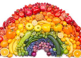 Waar het eten van een regenboogdieet wel niet goed voor is