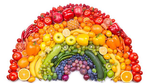 Het regenboog dieet