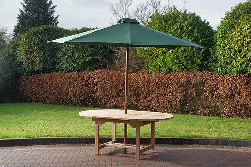 Green 3 metre parasol