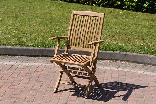 Orwell folding arm chair