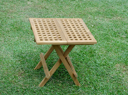 Square Folding Picnic Table with hatchings