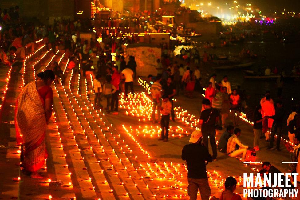 Diwali at the Ganges