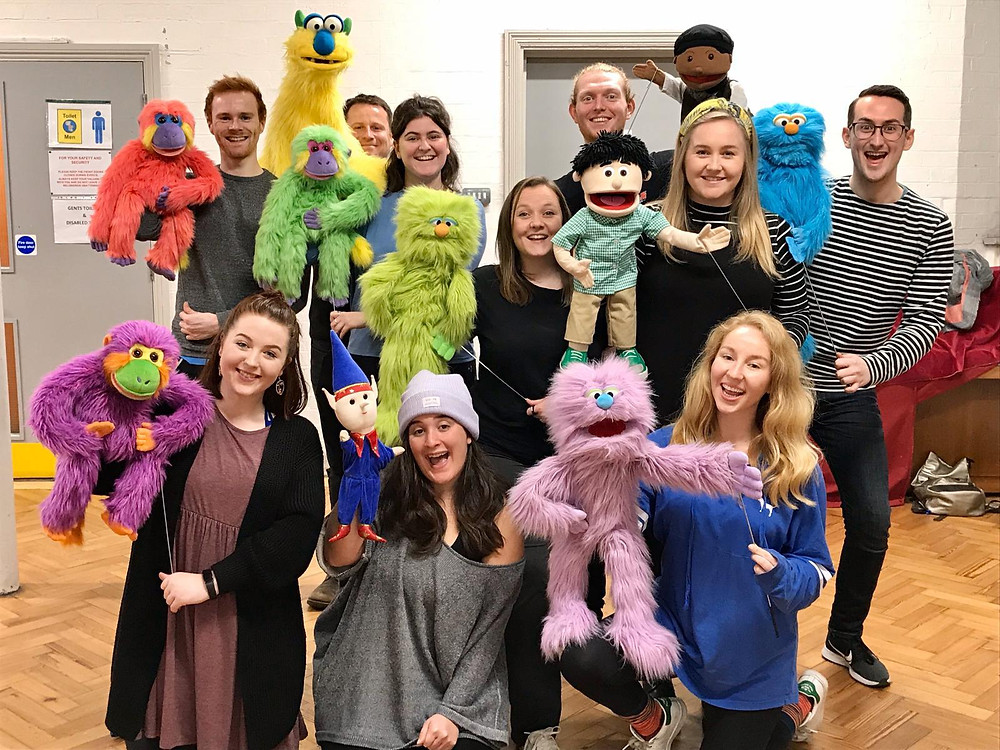 Our puppets come alive in our workshop with actor/puppeteer Chris Thatcher