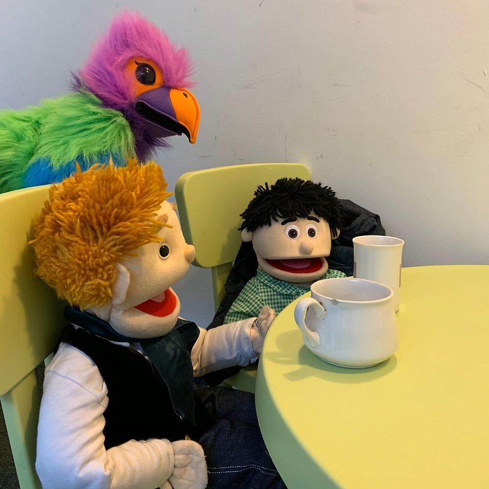 Script Meeting Tea Break!