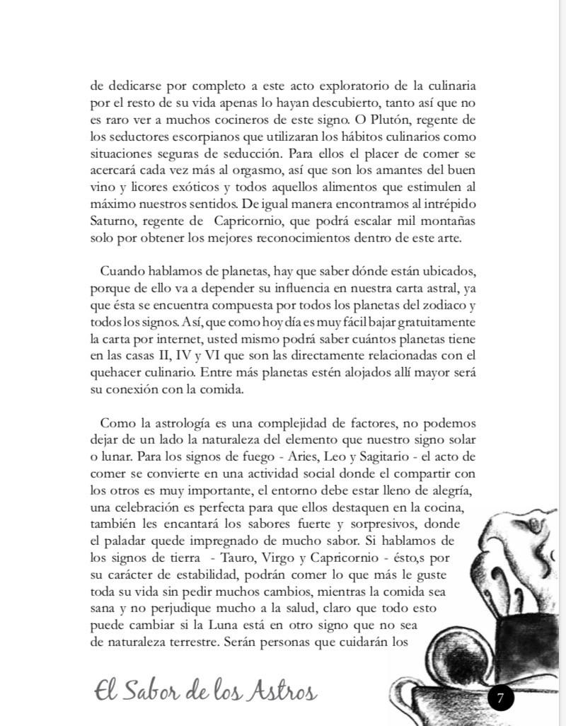 El sabor de los Astros.jpg Juanita Incoronato