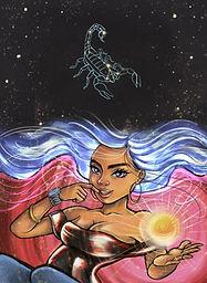 Escorpio.jpg Juanita Incoronato, Abhrama