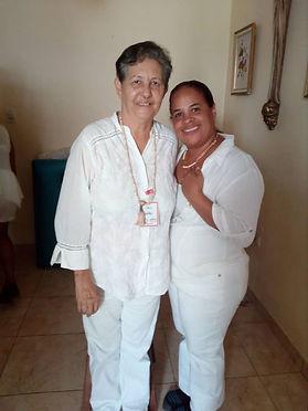 Izora Romero y .Teresa Castillojpeg