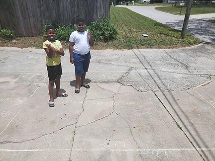 Twins driveway challenge.jpg