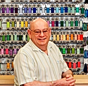 Needlepoint Designer David McCaskill