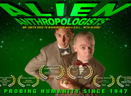 Alien Anthropologists Awarded Best Comedy